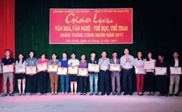 Lai Châu: Nhiều hoạt động nhân Tháng Công nhân năm 2017