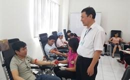 Người lao động 2 DN thuộc các KCN - CX Hà Nội tham gia hiến 170 đơn vị máu
