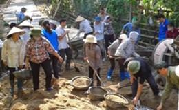 LĐLĐ huyện Ba Bể (tỉnh Bắc Kạn): Phối hợp cải thiện giao thông nông thôn