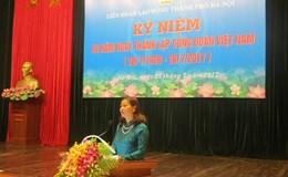 LĐLĐ TP. Hà Nội: Gặp gỡ CB hưu trí nhân kỷ niệm 88 năm ngày Thành lập CĐVN