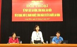 Quận Long Biên (Hà Nội): Đối thoại để kịp thời giải quyết những khó khăn, vướng mắc