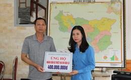LĐLĐ tỉnh Sơn La: Thăm hỏi và trao tiền ủng hộ nạn nhân bị thiệt hại do bão lũ huyện Mường La