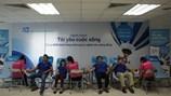Hơn 100 cán bộ, nhân viên ACB Hà Nội tham gia hiến máu nhân đạo