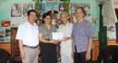 Quỹ Tấm lòng vàng Lao Động thăm và trao 15 triệu đồng đến bố mẹ cảnh sát biển tại Hải Dương