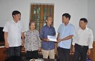 Quỹ TLV Lao Động đến với thân nhân 5 liệt sỹ Gạc Ma quê Thái Bình
