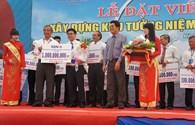 BIDV ủng hộ 1 tỉ đồng góp phần xây dựng Khu Tưởng niệm chiến sĩ Gạc Ma