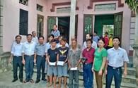 Quỹ TLV Lao Động: Trao quà hỗ trợ tới 6 ngư dân gặp nạn trên biển