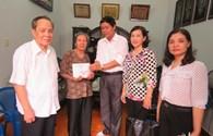 Quỹ Tấm Lòng vàng đến với các gia đình liệt sỹ Gạc Ma ở Hải Phòng