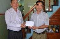Quỹ Tấm lòng vàng Lao Động trao 30 triệu đồng tới cựu binh Gạc Ma Lê Minh Thoa