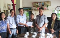Quỹ Tấm lòng vàng Lao Động giúp mẹ liệt sỹ Gạc Ma sửa lại căn nhà