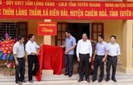 Khánh thành 3 phòng học mầm non trị giá hơn 800 triệu đồng tại Tuyên Quang
