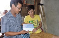 Quỹ Tấm Lòng Vàng Lao Động đến với công nhân vụ tai nạn ở Phú Quốc