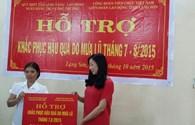 771 triệu đồng hỗ trợ người dân Lạng Sơn chịu thiệt hại do mưa lũ