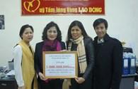 """CNVCLĐ tỉnh Bình Thuận ủng hộ thêm 1 tỉ đồng tới chương trình """"Nghĩa tình Hoàng Sa, Trường Sa"""""""