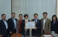 CBCNV TCty Thép ủng hộ 250 triệu đồng xây dựng Khu tưởng niệm nghĩa sĩ Hoàng Sa