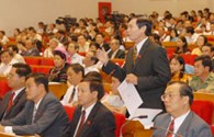 Kỳ họp thứ 8, Quốc hội khóa XIII:  Lấy phiếu tín nhiệm 50 cán bộ