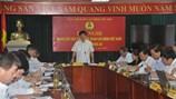 Khai mạc Hội nghị Đoàn Chủ tịch Tổng LĐLĐVN lần thứ 23