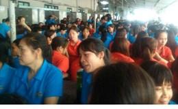 Thái Bình: Gần 2.000 công nhân ngừng việc đòi quyền lợi