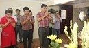 Báo Lao Động dâng hương tưởng niệm lãnh tụ Nguyễn Đức Cảnh