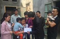 Quỹ Tấm Lòng Vàng Lao Động:  Trao 15 triệu đồng đến 3 cháu nhỏ mồ côi tại Bắc Ninh