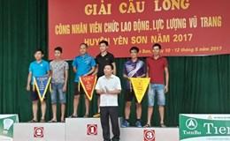 130 CNLĐ huyện Yên Sơn tổ chức giải cầu lông 2017