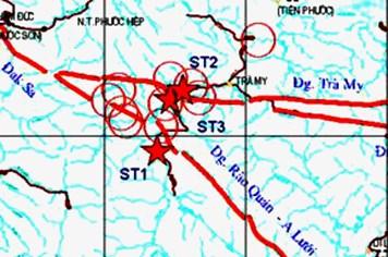 Động đất ở Sông Tranh 2 chưa thể gây đổ nhà!