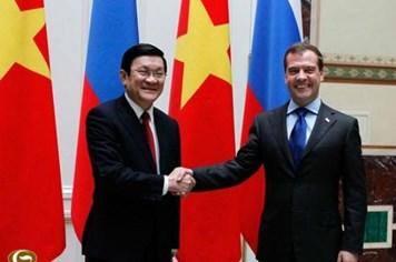 Tháng 11 tới, Thủ tướng Nga Medvedev thăm Việt Nam