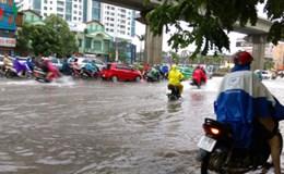 Lại nguy cơ úng ngập do mưa, lốc kéo dài đến 20.6