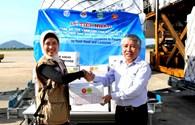 AHA trao tặng 30 tấn hàng cứu trợ đồng bào vùng thiên tai