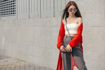 Học cách mix đồ dạo phố đẹp như Hoa hậu Jolie Nguyễn