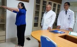Việt Nam là nước thứ 2 châu Á phẫu thuật cột sống bằng robot