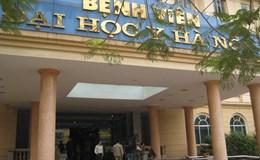 Công an điều tra vụ côn đồ xông vào Bệnh viện Đại học Y chém bệnh nhân