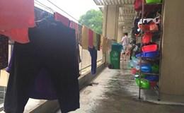 Bệnh viện Bạch Mai cấm giặt, phơi đồ trong bệnh viện