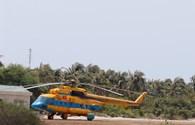 Tàu biên phòng tìm kiếm tung tích máy bay rơi đang trở về đảo Phú Quý