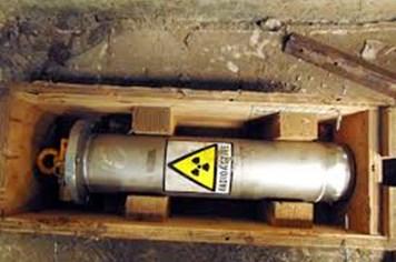 Tái dựng quy trình tháo, lưu trữ nguồn phóng xạ bị thất lạc