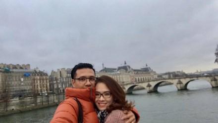 Khám phá kinh đô ánh sáng Paris cùng vợ chồng Đan Lê – Khải Anh