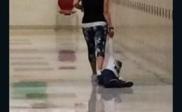 Cô giáo kéo lê học sinh dọc hành lang gây phẫn nộ