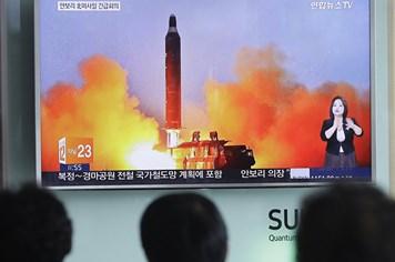Tên lửa Triều Tiên vừa phóng đạt độ cao hơn 2.000km