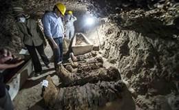 Ai Cập khai quật được 17 xác ướp có niên đại 1.500 năm