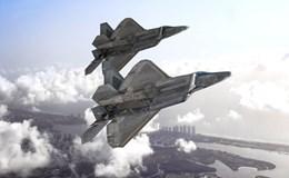 Chiến đấu cơ F-22 xuất kích khi máy bay hãng American Airlines gặp sự cố