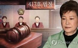 Bà Park Geun Hye chính thức ra tòa vào thứ Ba tuần tới