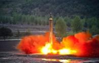 Mỹ xác định được loại tên lửa Triều Tiên vừa phóng