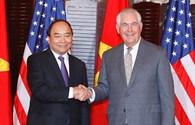 Thủ tướng Nguyễn Xuân Phúc dự tiệc chiêu đãi cấp Nhà nước của Hoa Kỳ