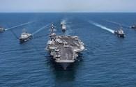 Mỹ rút 2 tàu sân bay khỏi khu vực bán đảo Triều Tiên