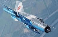 Tiêm kích MiG-21 LanceR của Romania bị rơi