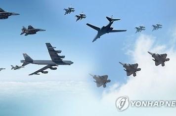 Mỹ điều hai oanh tạc cơ B-1B tới diễn tập ném bom ở Hàn Quốc