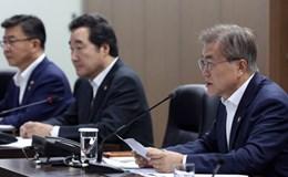Triều Tiên phóng tên lửa ngay sau chuyến thăm Mỹ của Tổng thống Hàn Quốc