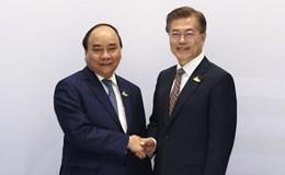 Các cuộc tiếp xúc song phương của Thủ tướng Nguyễn Xuân Phúc bên lề Hội nghị G20