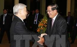 Công tác phân giới cắm mốc Việt Nam - Campuchia có nhiều tiến bộ