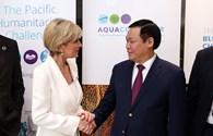 Ngoại trưởng Australia khẳng định ưu tiên hỗ trợ ODA cho Việt Nam